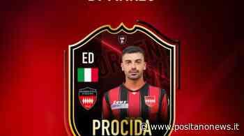 Sorrento Calcio, Emanuel Procida è il miglior giocatore del mese di marzo - Positanonews - Positanonews