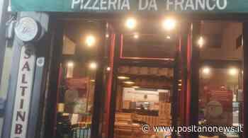 """Sorrento: riparte anche la pizzeria """"Da Franco"""" con le pizze per tutti i gusti, anche per i celiaci - Positanonews - Positanonews"""