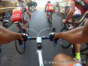 Cronoscalata Vesuvio vince ciclista di Sorrento Raffaele Cinque - SorrentoPress