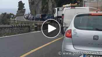 Positano/Piano di Sorrento: traffico lungo la SS 163 - Positanonews - Positanonews