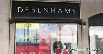 Debenhams confirms exactly when Exeter, Plymouth and Torquay stores will close for good - Devon Live