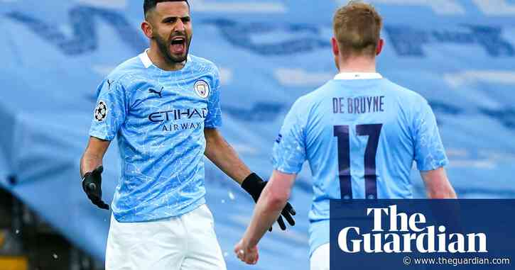 Mahrez fires Manchester City into first Champions League final after win over PSG