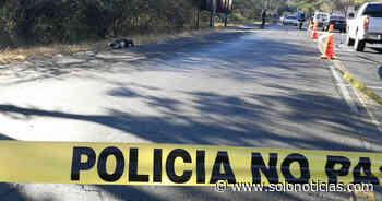 Anciano muere al ser atropellado en Concepción Batres, Usulután - Solo Noticias