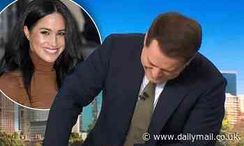Karl Stefanovic LAUGHS at Meghan Markle for writing poetry for her husband
