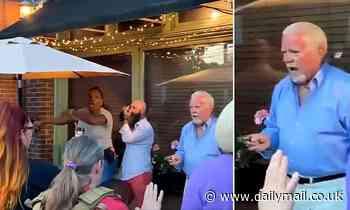 Louisville diner brandishes handgun after armed BLM protesters surround restaurant