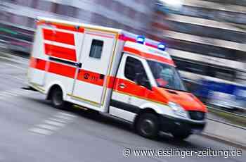 Unfall in Denkendorf: Motorradfahrer stürzt - esslinger-zeitung.de