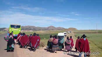 Huancané: Moho y Putina hoy deciden si continúan paro. GORE no se pronuncia - Radio Onda Azul