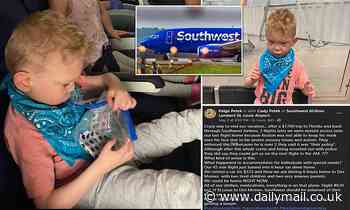 Southwest Airlines kicks family off plane after 5 year old, who has autism, struggles with his mask