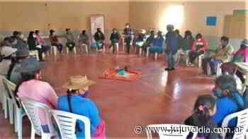 Fortalecimiento comunitario en La Ciénega - Jujuy al día