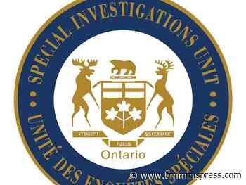 SIU determines no wrongdoing by OPP during arrest in Moosonee - Timmins Press