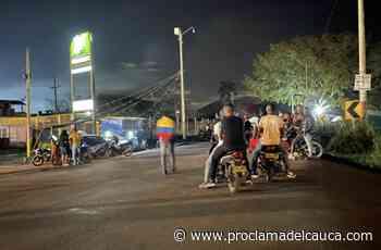 Puerto Tejada mantiene bloqueada sus vías por el Paro Nacional – - Proclama del Cauca