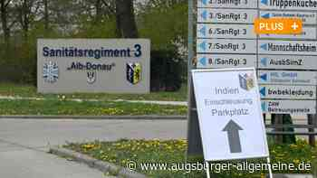 Corona: Bundeswehr-Soldaten aus Dornstadt helfen Indien - Augsburger Allgemeine