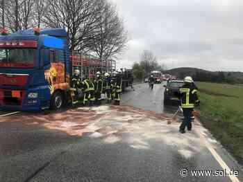 Crash mit Lkw: 70-jährige Frau schwer verletzt bei Unfall in Freisen-Asweiler - sol.de