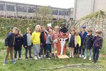 Basisschool KBO Sint-Jozef opent wilgenhut en groene speelzone - Het Nieuwsblad