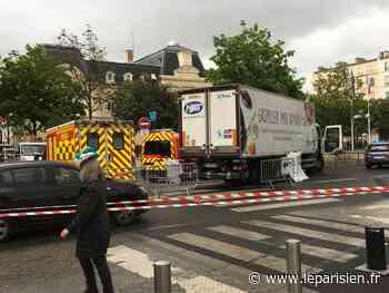 Clichy : une retraitée écrasée par un poids-lourd - Le Parisien