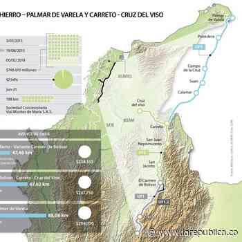 Puerta de Hierro - Palmar de Varela y Carreto - Cruz del Viso estará lista en junio - La República