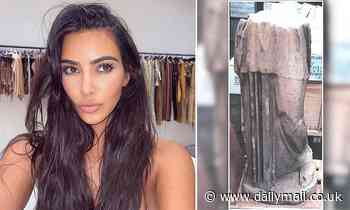 Kim Kardashian is ordered to forfeit 'stolen' Ancient Roman sculpture after it was seized by customs