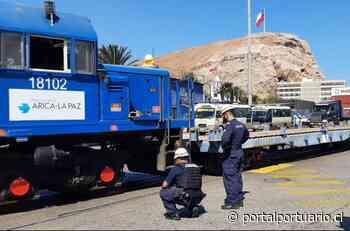 FCALP y Puerto de Arica afinan preparativos para Prueba Técnica de tren con carga a Bolivia - PortalPortuario