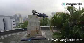 Intentaron derribar estatua de Sebastián de Belalcázar en el oeste de Cali - Vanguardia