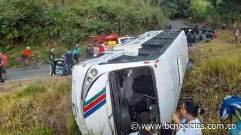 Seis lesionados deja accidente de tránsito entre Belalcázar y Arauca - BC NOTICIAS - BC Noticias
