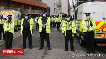Man charged over Manchester United protest at Salford hotel - BBC News