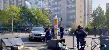 Blocus lycéen : des tirs de mortiers à Aubervilliers (vidéo) - Voltage