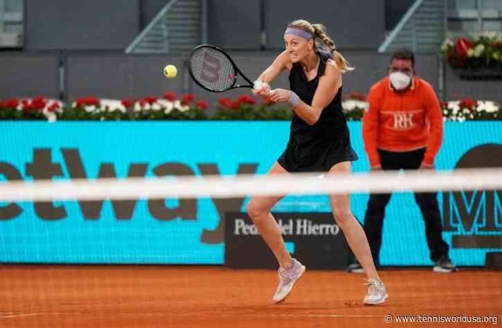 "Petra Kvitova: ""Against Kudermetova was definitely tough"""