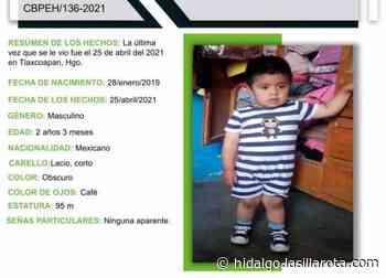 Desaparece bebé en Tlaxcoapan; su familia lo busca - La Silla Rota