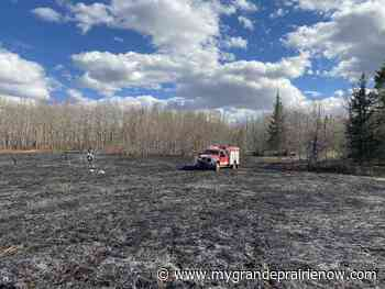 County fire officials urge caution after blaze filled weekend - My Grande Prairie Now