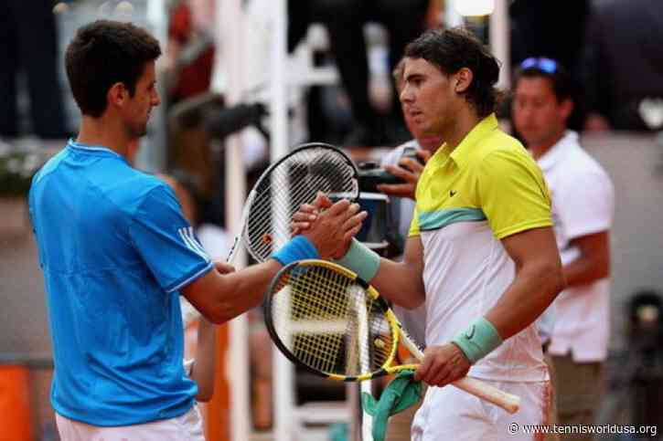 Rafael Nadal: 'Novak Djokovic and I played an exciting match in Madrid 2009'