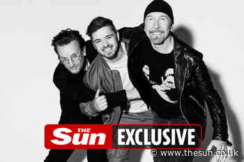 U2 team up with DJ Martin Garrix to record official Euro 2020 anthem... - The Sun