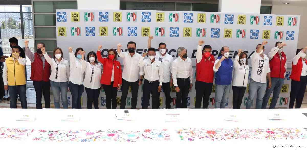 Acuerdos, la fortaleza de las coaliciones, dice Valera Piedras - Criterio Hidalgo