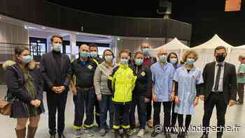 """À Lourdes, le préfet Rodrigue Furcy, """"tenait à saluer les équipes"""" mobilisées pour vacciner dimanche matin - LaDepeche.fr"""
