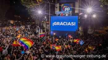 Sánchez unter Druck: Regionalwahl in Madrid: Wahltriumph der Konservativen