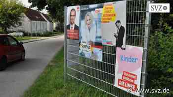 Wahlen 2021 in Hagenow: Wahlwerbung ohne Limit möglich   svz.de - svz – Schweriner Volkszeitung