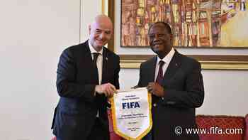 Youth football and unity take centre stage in Côte d'Ivoire - FIFA.com