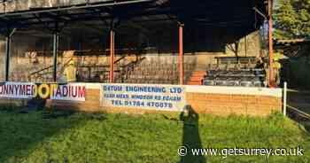 Egham Town Football Club fire: Live updates as fire crews battle blaze - Surrey Live