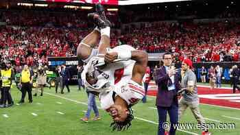 Former Ohio State Buckeyes WR Jameson Williams transferring to Alabama football program - ESPN