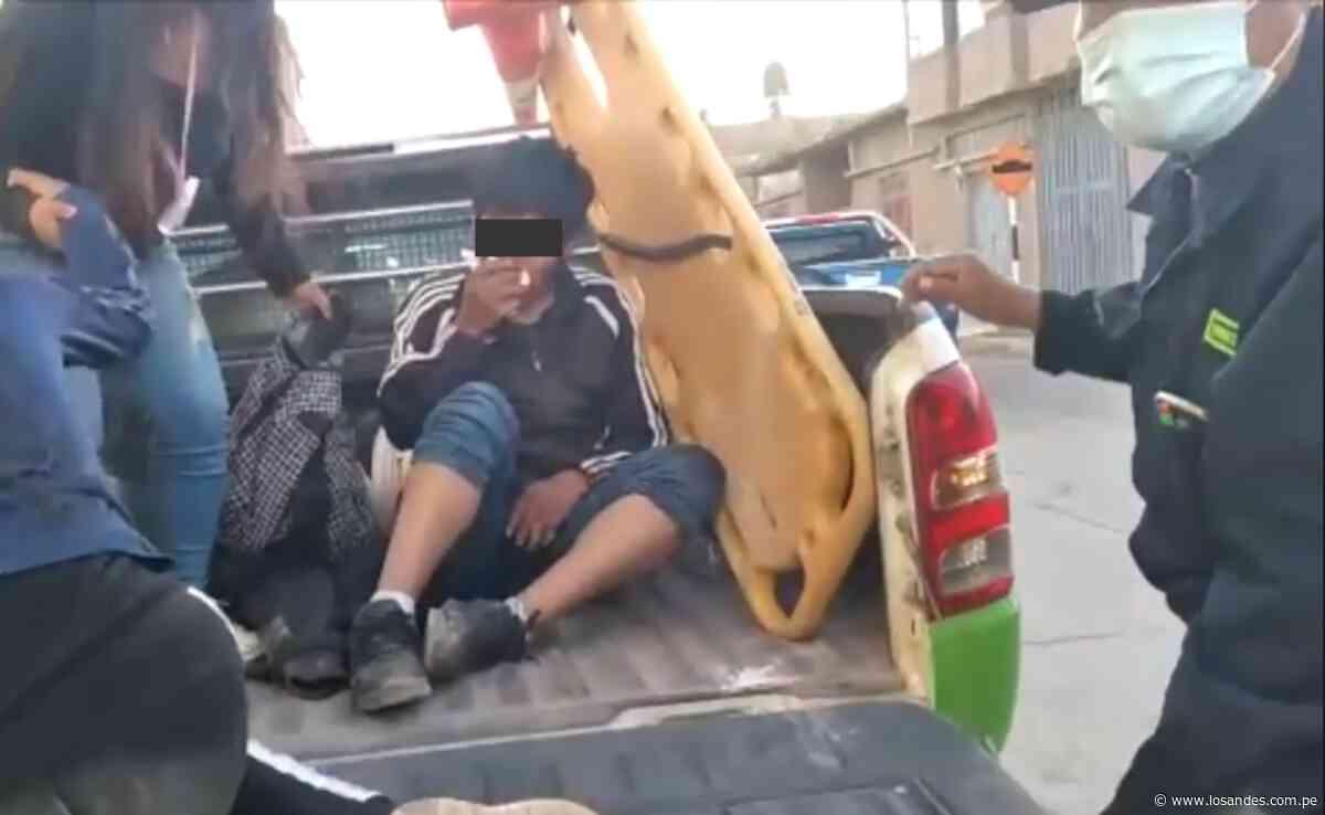 Ebrio es arrollado por una mototaxi en el distrito de San Miguel - Los Andes Perú