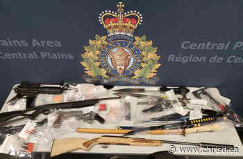 Four Arrested in Drugs, Weapons Bust in Portage la Prairie - ChrisD.ca