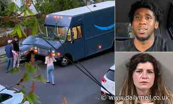 White woman, 35, faces hate crime charge for dialing 911 on black delivery driver