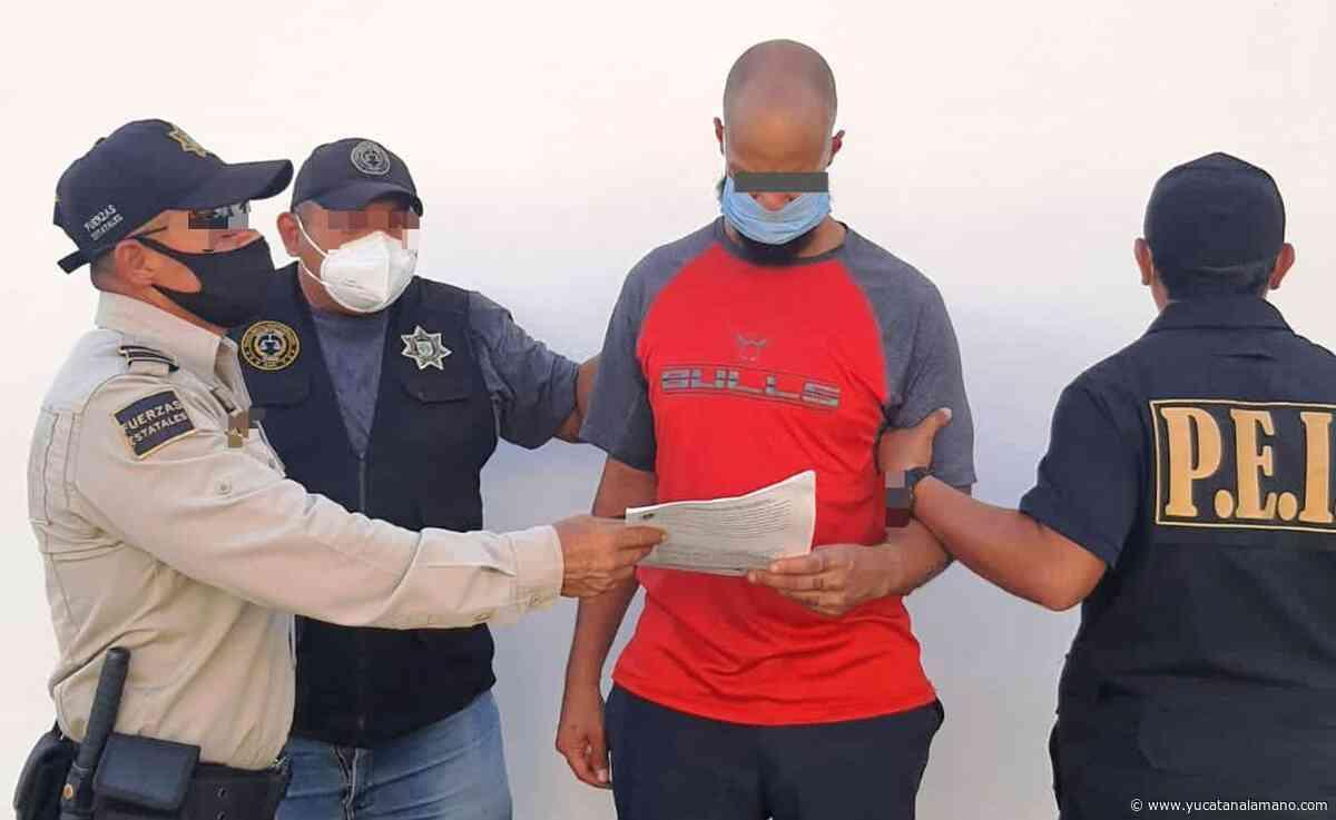 Detienen a extranjero acusado de asesinar a su padre en Mérida - Yucatán a la mano