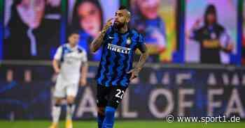Inter Mailand: Arturo Vidal feiert neunte Meisterschaft in zehn Jahren - SPORT1