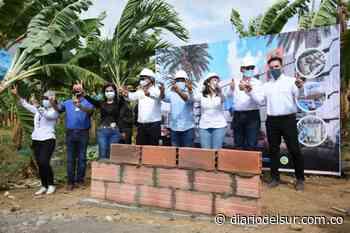 Apartadó pone la primera piedra de construcción de 1.104 viviendas en ciudadela - Diario del Sur