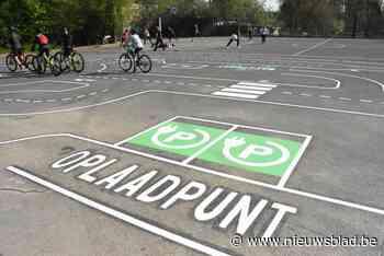 Kinderen kunnen fietsskills testen op verkeersparcours
