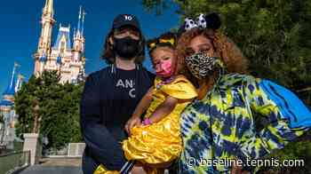 Serena Williams visits Walt Disney World with family - Baseline