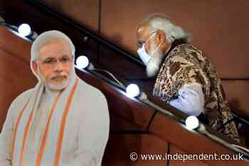 India's virus surge damages Modi's image of competence