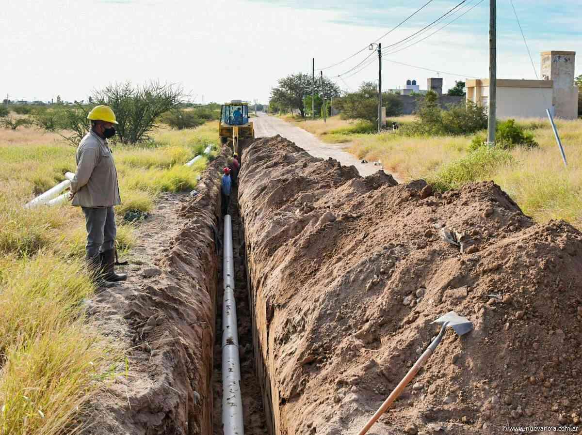 Avanza la obra del Nexo Cloacal La Quebrada que beneficiará a más de seis mil vecinos - Nueva Rioja