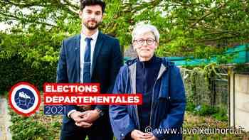 Canton de Caudry: le RN mise sur «du sang frais», avec Ghislaine Lefebvre et Mathias Desweemer - La Voix du Nord
