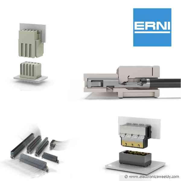 ERNI Electronics signs Digi-Key for global distribution